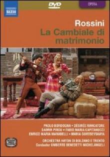 Gioacchino Rossini. La Cambiale di Matrimonio di Luigi Squarzina - DVD