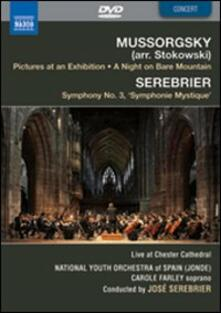 Modest Mussorgsky: Pictures at an Exhibition; José Serebrier: Symphony No. 3 - DVD