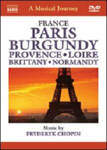 A Musical Journey. France: Paris, The Seine, Les Tuileries, Opera, Sacre-Coeur - DVD