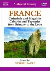 A Musical Journey. France. Cathedrals and Megaliths, Calvaries... - DVD