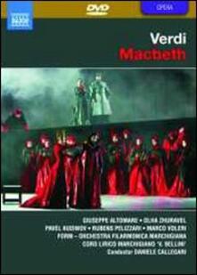 Giuseppe Verdi. Macbeth (DVD) - DVD di Giuseppe Verdi