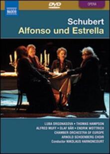 Franz Schubert. Alfonso Und Estrella di Jürgen Flimm - DVD