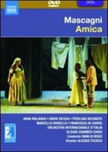 Pietro Mascagni. Amica (DVD) - DVD di Pietro Mascagni,Manlio Benzi