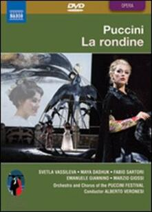 Giacomo Puccini. La rondine (DVD) - DVD di Giacomo Puccini