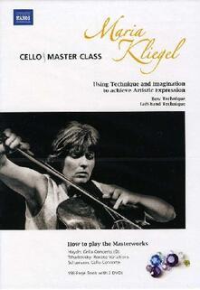 Maria Kliegel Cello Master Class (2 DVD) - DVD di Maria Kliegel