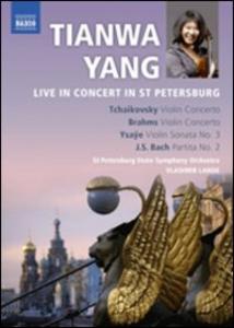 Film Tianwa Yang Live in Concert in St. Petersburg