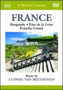 A Musical Journey. France. Burgundy, Pays de la Loire & Franche-Comté - DVD
