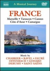 A Musical Journey. France: Marseille, Tarason, Cannes, Cote d'Azur, Camargue - DVD