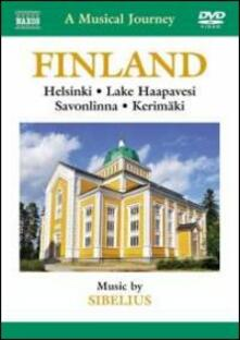 A Musical Journey: Finland (DVD) - DVD di Jean Sibelius