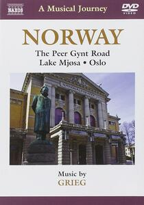 Norway. A Musical Journey. The Peer Gynt Road, Lake Mjosa, Oslo - DVD