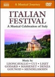 A Musical Journey. Italian Festival: A Musical Celebration of Italy - DVD