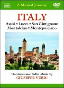 A Musical Journey. Italy. Assisi, Lucca, San Gimignano, Montalcino & Montepulciano - DVD