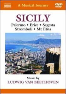 A Musical Journey. Sicily. Palermo, Erice, Segesta, Stromboli, Etna - DVD
