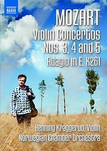 Concerto per violino n.3 K 216, n.4 218, n.5 K 219 (DVD) - DVD di Wolfgang Amadeus Mozart,Norwegian Chamber Orchestra,Henning Kraggerud