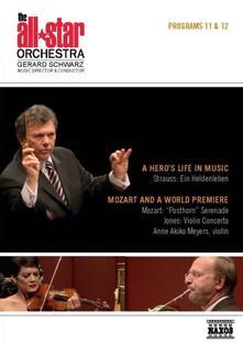 Richard Strauss. All Star Orchestra. Programs 11 & 12. Vita D'eroe Op.40 - DVD