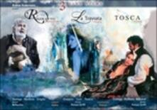 Tosca. The Music Way - 3 Live Films - Roma, Mantova, Parigi - Rigoletto, Traviata - DVD