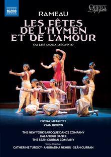 Les Fêtes de l'Hymen et de L'Amour. Opéra-ballet in 3 atti e un prologo (DVD) - DVD di Jean-Philippe Rameau