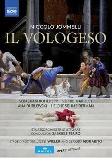 Il Vologeso (2 DVD) - DVD di Niccolò Jommelli,Gabriele Ferro