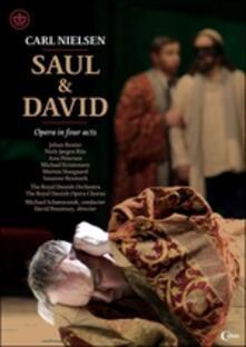 Carl Nielsen. Saul & David (DVD) - DVD di Carl August Nielsen