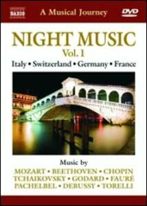 A Musical Journey. Night Music Vol. 1. Italy, Switzerland, Germany & France - DVD