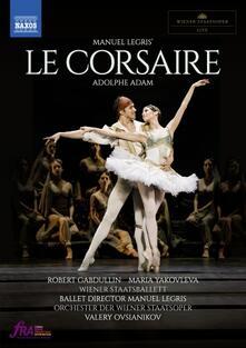 Le Corsaire. Balletto in 3 atti (DVD) - DVD di Adolphe Adam,Orchestra dell'Opera di Stato di Vienna