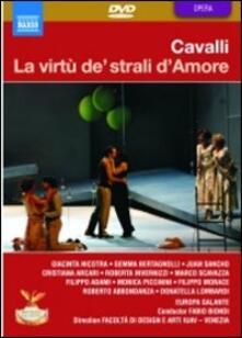 Francesco Cavalli. La virtù de' strali d'Amore (2 DVD) - DVD di Francesco Cavalli,Fabio Biondi,Europa Galante