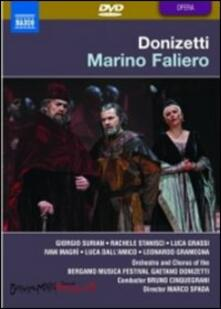 Gaetano Donizetti. Marino Faliero (2 DVD) - DVD di Gaetano Donizetti