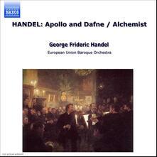 Apollo e Dafne - The Alchemist - CD Audio di Georg Friedrich Händel