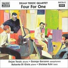 Four for one - CD Audio di Dejan Terzic