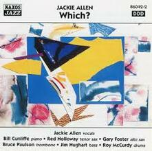 Which? - CD Audio di Jackie Allen