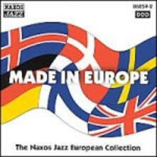 Made in Europe: The Naxos European Jazz - CD Audio