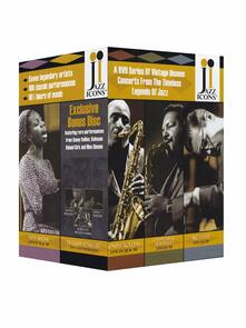 Jazz Icons Box. Vol. 3 (7 DVD) - DVD di Julian Cannonball Adderley,Nat Adderley,Roy Brown