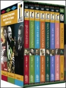 Jazz Icons Box. Vol. 4 (7 DVD) - DVD di Art Blakey,Coleman Hawkins,Erroll Garner,Art Farmer