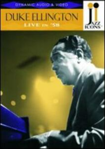 Duke Ellington. Live in '58. Jazz Icons - DVD