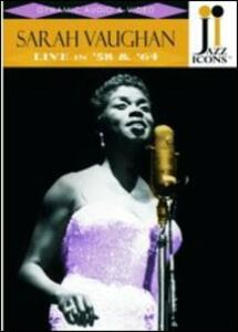Sarah Vaughan. Live in '58 and '64. Jazz Icons - DVD