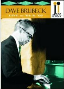 Dave Brubeck. Live in '64 and '66. Jazz Icons - DVD