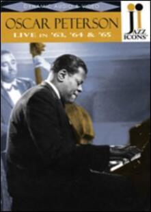 Oscar Peterson. Live in 63, '64 and '65. Jazz Icons (DVD) - DVD di Oscar Peterson,Roy Eldridge,Roy Brown,Ed Thigpen