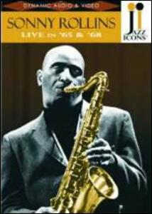 Sonny Rollins. Live in '65 and '68. Jazz Icons - DVD