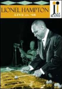 Lionel Hampton. Live in '58. Jazz Icons - DVD