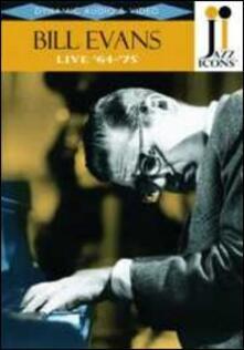 Bill Evans. Live '64 - '75. Jazz Icons (DVD) - DVD di Bill Evans