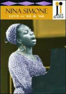 Nina Simone. Live in '65 And '68. Jazz Icons - DVD
