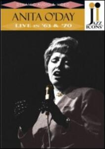 Anita O'Day. Live in 63' & '70. Jazz Icons - DVD