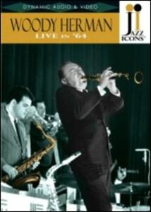 Woody Hermann. Live in '64. Jazz Icons - DVD