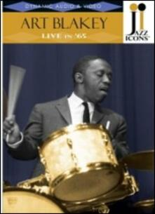 Art Blakey. Live in '65. Jazz Icons - DVD