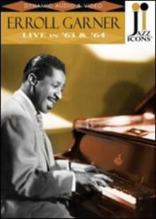 Erroll Garner. Live in '63 & '64. Jazz Icons (DVD) - DVD di Erroll Garner