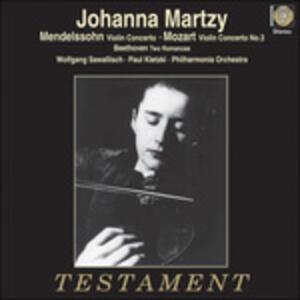 Johanna Martzy - Vinile LP di Johanna Martzy