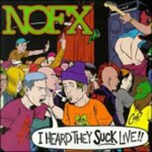 I Heard They Suck Live - Vinile LP di NOFX