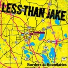 Borders & Boundaries - CD Audio + DVD di Less Than Jake
