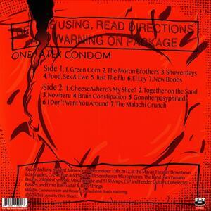 Ribbed. Live in a Dive - Vinile LP di NOFX
