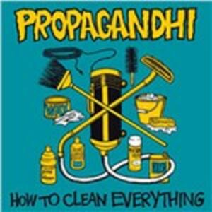 How to Clean Everything - Vinile LP di Propagandhi